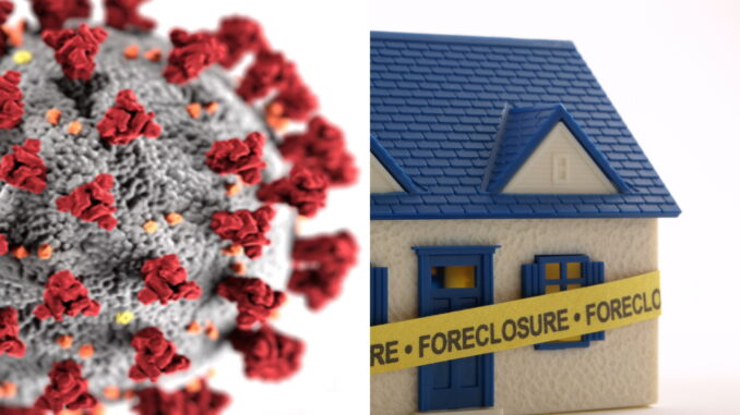 Coronavirus Epidemic Prompts Suspension of Foreclosures in DC area -- LEE LEGAL -- DC VA MD